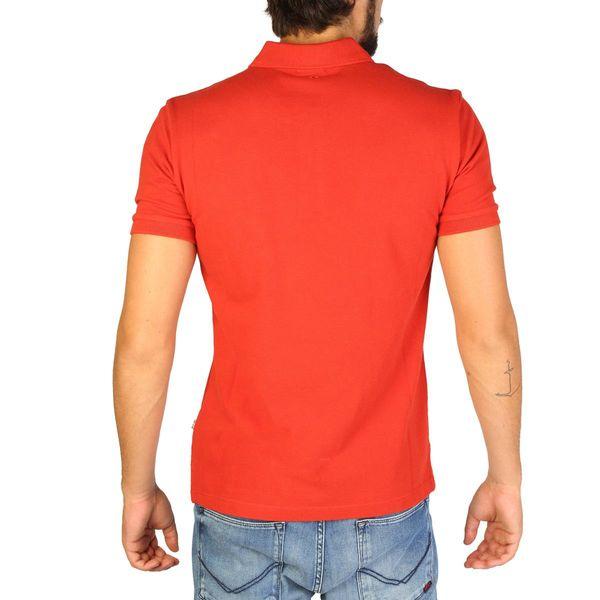 Napapijri koszulka męska polo pomarańczowy L zdjęcie 3