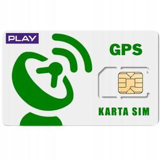 STARTOWA Karta SIM LOKALIZACJA GPS