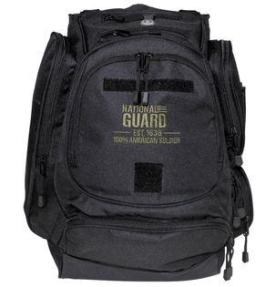 """Plecak US """"NATIONAL GUARD"""" czarny"""