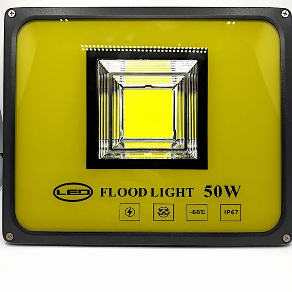 Halogen LED - Naświetlacz - 50W 5000LM zdjęcie 1