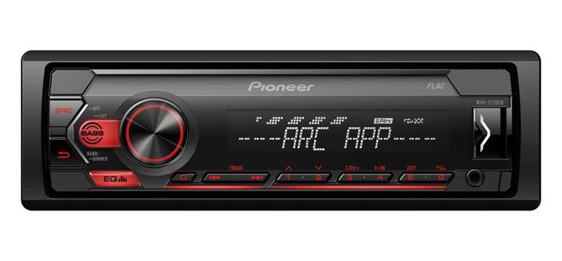 Pioneer MVH-S120UB Cyfrowy radioodtwarzacz z tunerem RDS, USB, Aux-in na Arena.pl