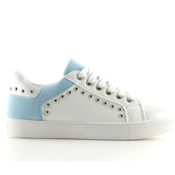 Trampki damskie biało niebieskie LA09 Blue r.41