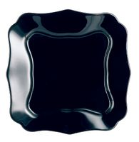 Talerz obiadowy 25,5 cm czarny AUTHENTIC LUMINARC