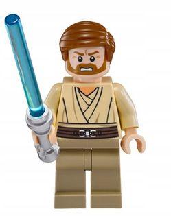 MEGA figurka Star Wars Obi Wan Kenobi +karta lego