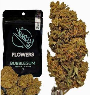 Susz CBD KWIATY Vonzzy Flowers Bubblegum 5g