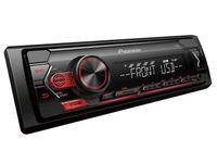 Radio samochodowe PIONEER MVH-S120UB USB/AUX (czerwone)