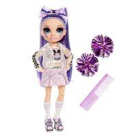 MGA Rainbow High Cheer Doll - Violet Willow (Purple) 572084