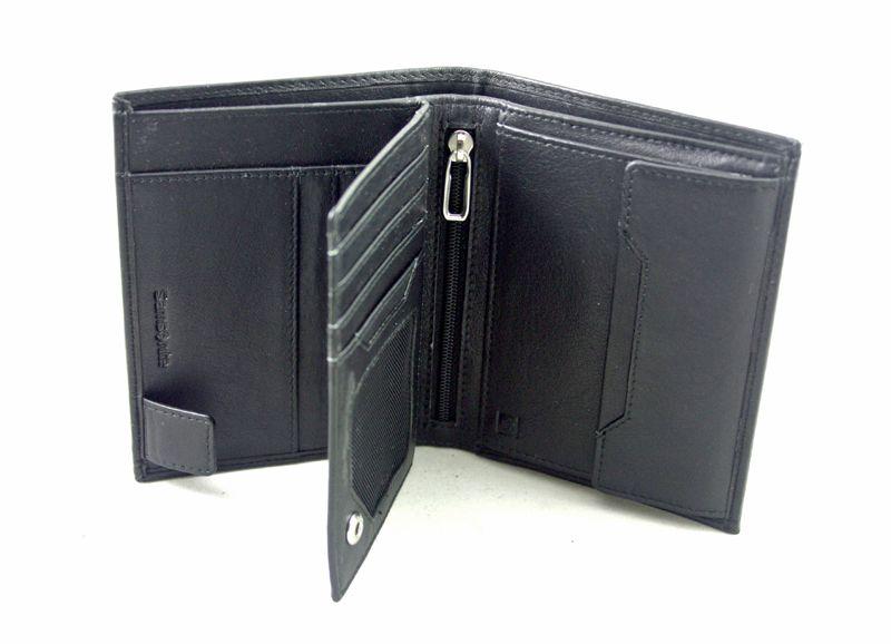 dbf42a0ec9ff2 Skórzany portfel męski Samsonite RFID