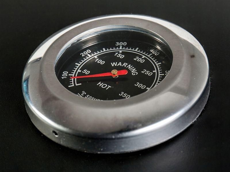 Duży grill ogrodowy węglowy Premium Termometr Półki JY-BS01 D103 zdjęcie 8