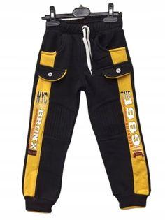 Spodnie dresowe ocieplane, bawełna roz.110