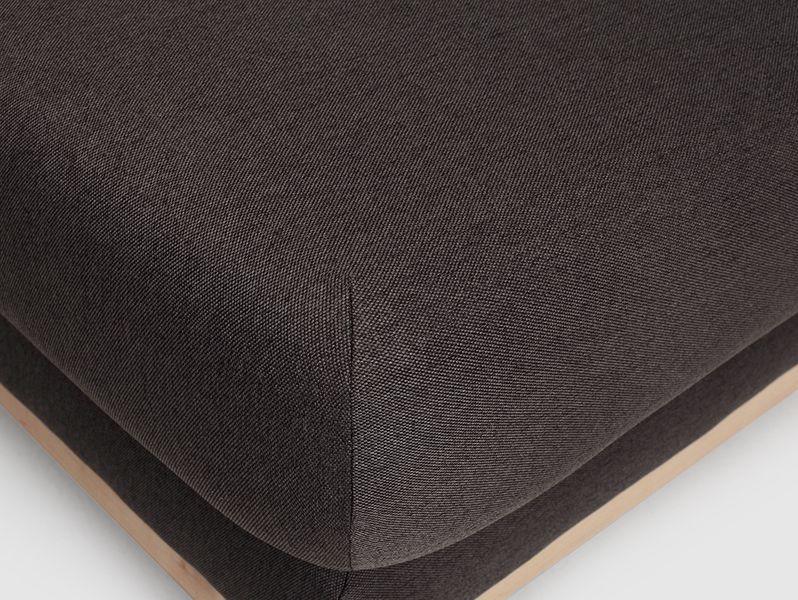 Pufa SCANDIC - karbon, naturalny, pufy zdjęcie 7