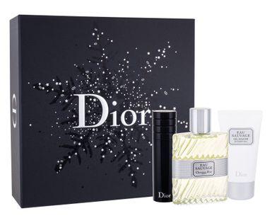 Christian Dior Eau Sauvage Woda toaletowa 100ml zestaw upominkowy