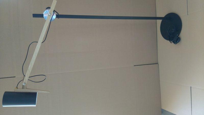 Lampa podłogowa Stork czarna D2 zdjęcie 3
