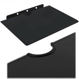 Półka ścienna szklana na dekoder konsolę dvd 10 kg