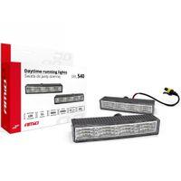 Światła do jazdy dziennej LED AMiO/NSSC 540, automat, dł. 12,5cm, 200Lm