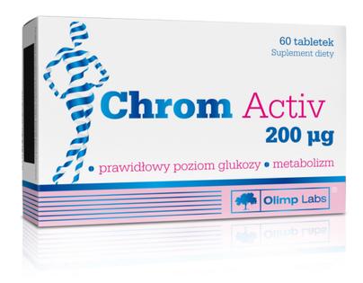 Suplement Chrom Activ 200 µg - 60 tab. Olimp