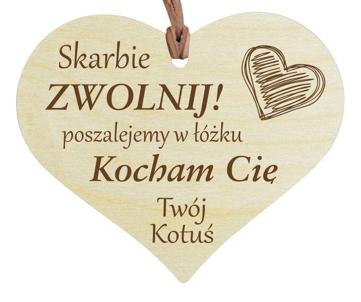 DZIEŃ CHŁOPAKA ZAWIESZKA DO AUTA serce GRAWER na Arena.pl