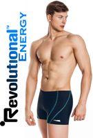 Spodenki pływackie RYAN Rozmiar - Stroje męskie - L, Kolor - Stroje męskie - Ryan - 22 - niebieski / jasny niebieski