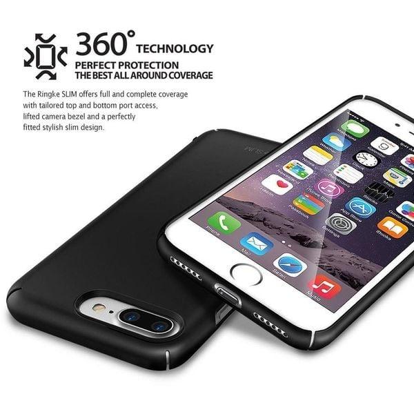 Etui Ringke Slim iPhone 8 Plus / 7 Plus SF czarne zdjęcie 6