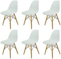 Zestaw 6 szt krzeseł Dankor Design France DSWD