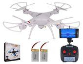 Dron TD08 II Generacji z Kamerą WiFi Podgląd na żywo 2x AKU Biały Z312 zdjęcie 1