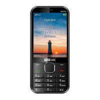 Telefon komórkowy Maxcom Czarny MM 330 CLASSIC