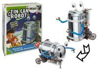 Edukacyjny Robot z Puszki DIY