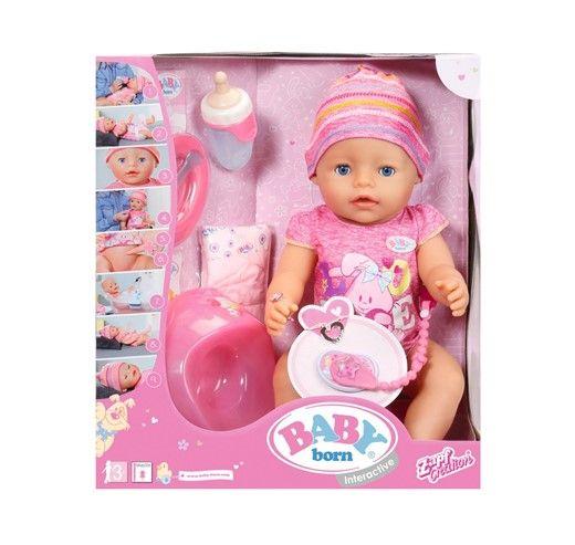 Baby Born Lalka interaktywna 822005 ZAPF zdjęcie 1