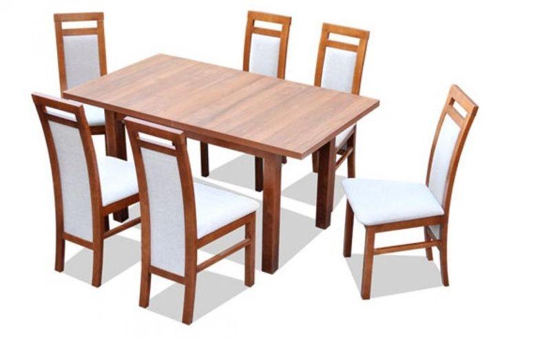 Stół Rozkładany 6 Krzeseł Z18 Promocja Tanio Arenapl