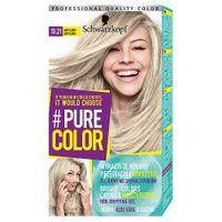 Schwarzkopf #pure Color Farba Do Włosów W Żelu Trwale Koloryzująca 10.21 Baby Blond