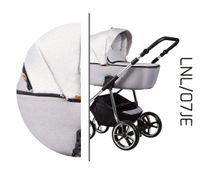 Ekskluzywny wózek dziecięcy La Noche Limited Edition Baby Merc 2w1 Szary