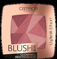 Catrice Blush Box Glowing + Multicolour 020 It's Wine O'clock Róż do policzków 5,5g - 020 It's Wine O'clock