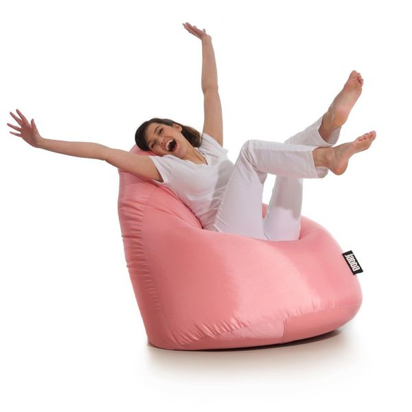Fantastyczny Pufa z granulatem siedzisko różowa sako worek pufka fotel SE68