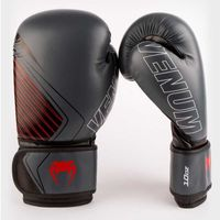 Rękawice bokserskie Venum model Contender 2.0 czarno szare 10 oz