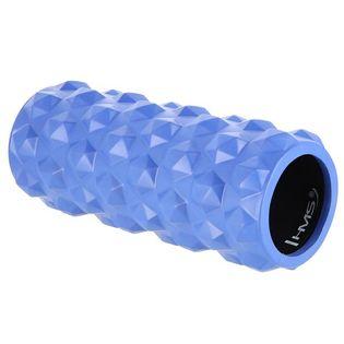 Wałek roller fitness do rolowania HMS FS107 niebieski 31,5 cm