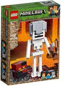 Lego Minecraft BigFig - Szkielet z kostką magmy