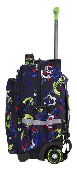 85a6a79dd810e Plecak CoolPack JUNIOR na kółkach piłka nożna