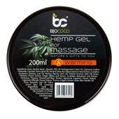 Bjococo Konopny rozgrzewający żel do masażu - 200 ml