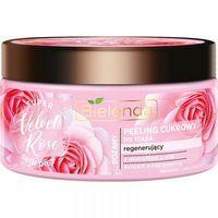 Bielenda  Super Skin Diet  Velvet Rose - Różany Peeling Cukrowy  -  350 G