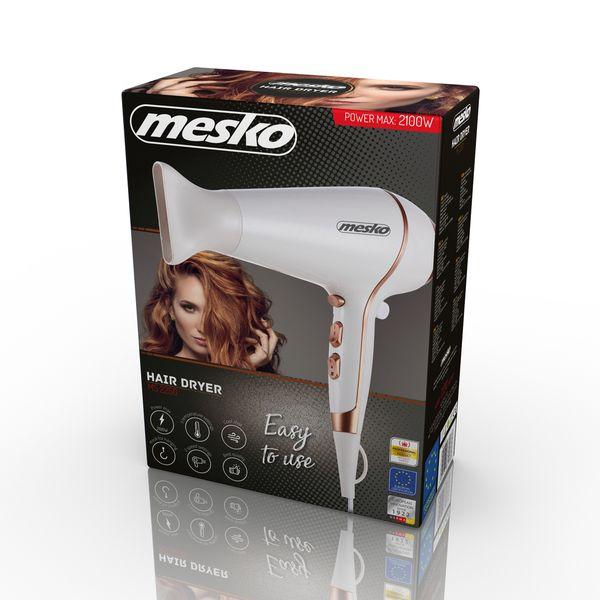 Suszarka do włosów 2100W Mesko MS 2250 zimne powietrze zdjęcie 6