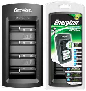 ENERGIZER ŁADOWARKA AKUMULATORKÓW R6 R3 R14 R20 9V