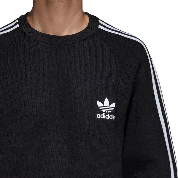 Data wydania: Darmowa dostawa wspaniały wygląd Bluza adidas Knit Crew czarna DH5754 S