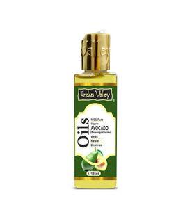 Olej avocado organiczny nierafinowany 100 ml Indus Valley