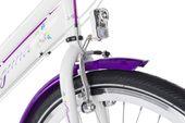 Rower 24 KANDS LAGUNA VS-2 stożek biało-fioletowy zdjęcie 3
