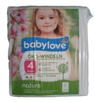 babylove maxi ekologiczne pieluchy 34 szt