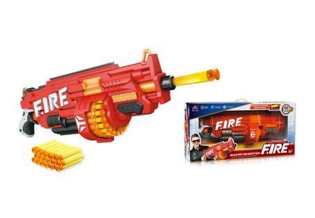 Wyrzutnia karabin bębenkowy FIRE + 40strzałek