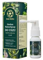 Herbal Medica Orelon Naturspray Do Uszu 15 Ml