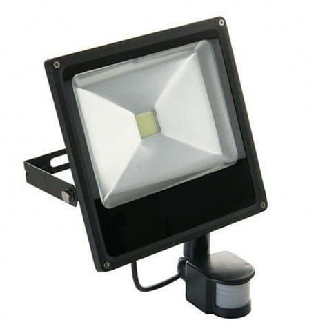 Halogen LED SMD 20W z czujnikiem ruchu, zmierzchu, lampa zdjęcie 1
