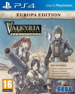 Valkyria Chronicles Remastered Europa Edition - PS4