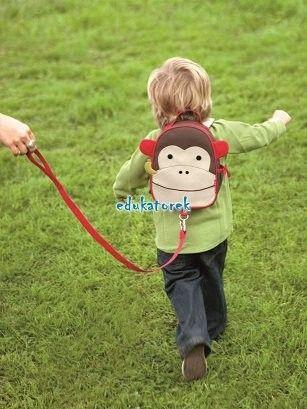 ŻYRAFA plecak ze smyczą SKIP HOP baby zoo z USA zdjęcie 2